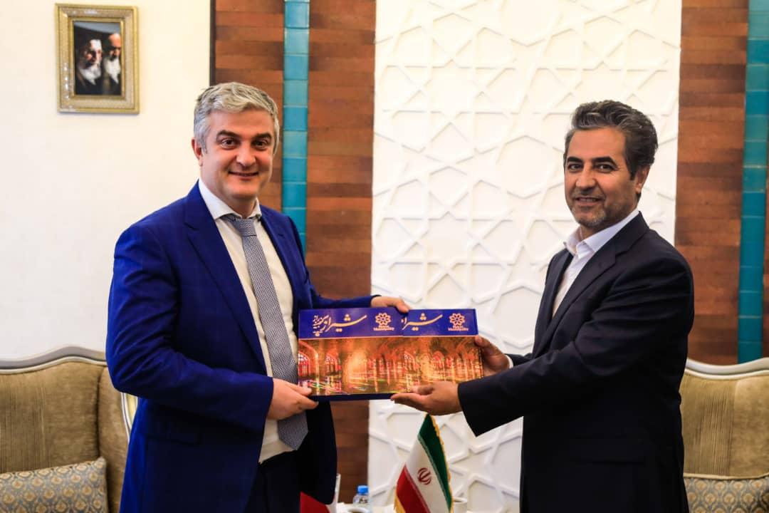 شهردار شیراز: پذیرای سرمایهگذاری دانمارک در شیراز هستیم