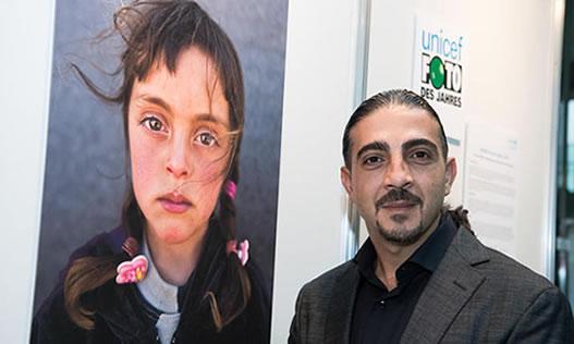 پرتره دختربچه پناهجوی سوری عکس سال یونیسف شد