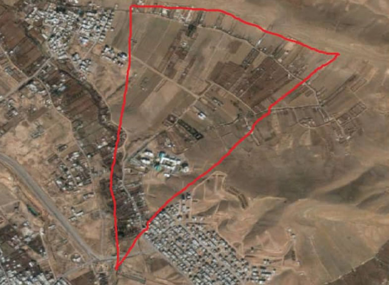 """ساخت و سازها در شمال غرب شهرک آرین شیراز """"خلاف است"""""""