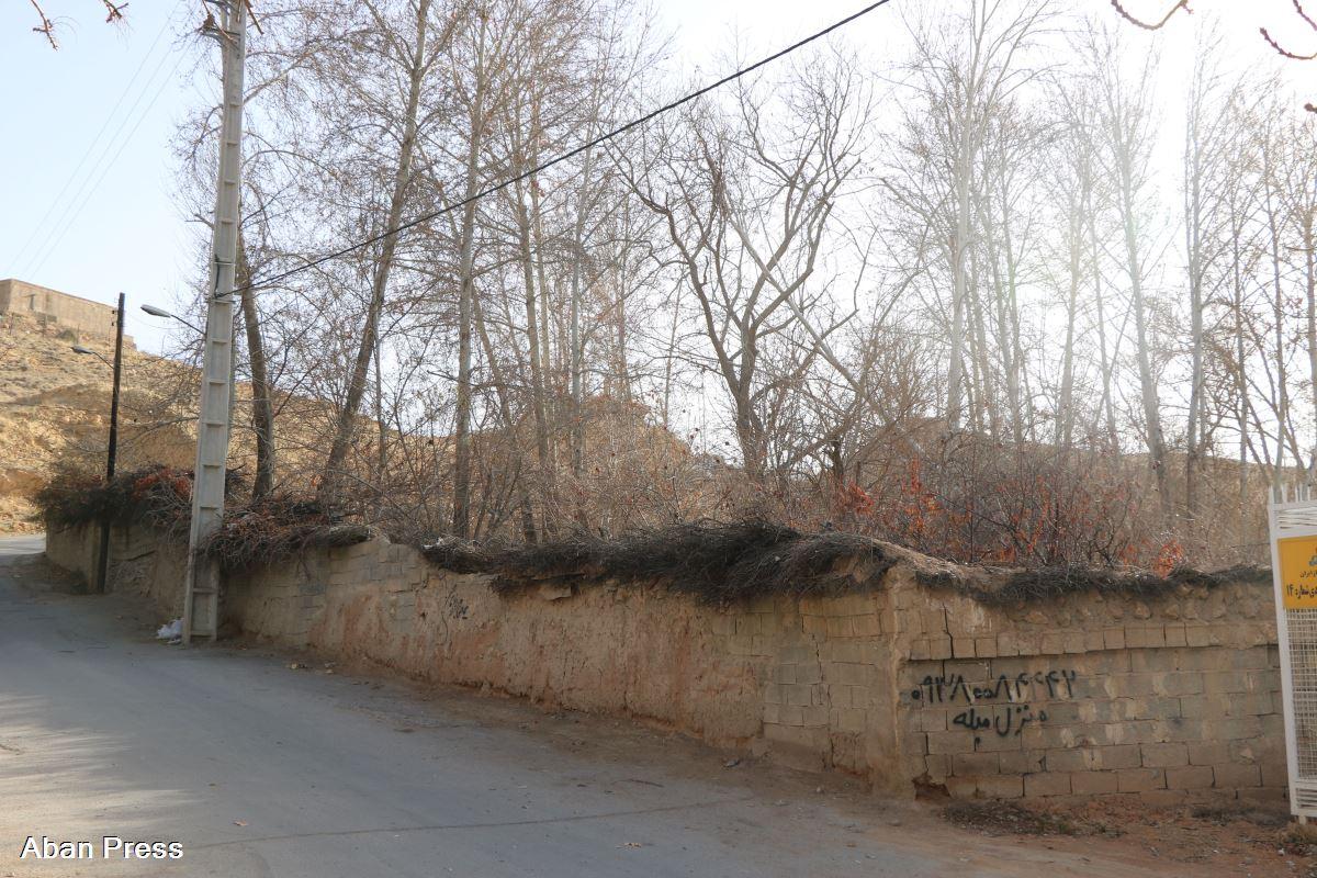 خطر تخریب یک باغ را در بولوار چمران شیراز تهدید می کند