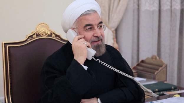 روحانی در تماس تلفنی با اسد حمله آمریکا را محکوم کرد