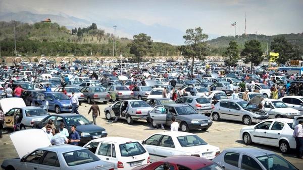 کاهش ۱۰۰ درصدی فروش خودرو در فارس