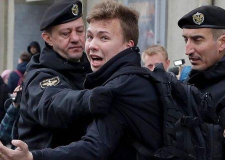 اعتراف تلویزیونی روزنامه نگار بلاروس؛ اپوزیسیون: تحت فشار گرفته شده و ساختگی است