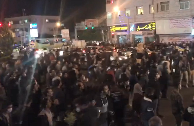 پتانسیل اعتراض سیاسی در ایران