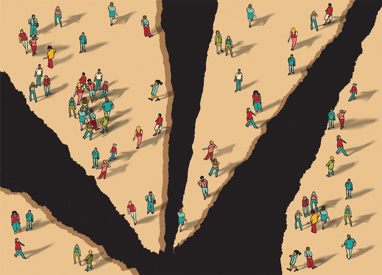 """""""افزایش شکافهای اجتماعی در ایران"""""""