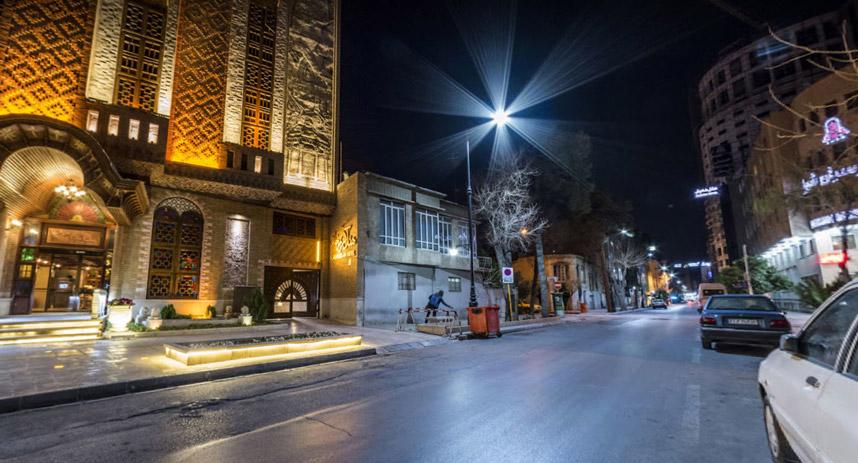 ممنوعیت رفت و آمد در خیابان رودکی شیراز لغو شد
