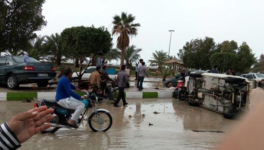 جسد یکی از قربانیان طغیان دریا در دیر بوشهر پیدا شد