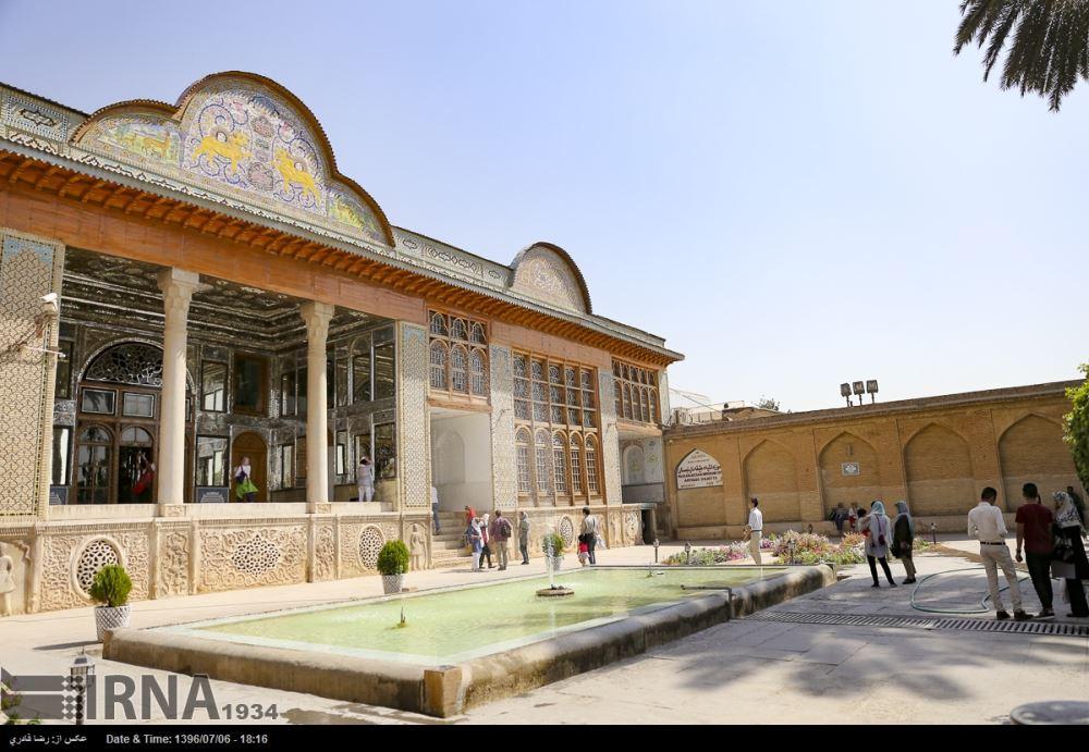 آلبوم عکس؛ مسافران قطار گردشگری بینالمللی هزار و یک شب در شیراز