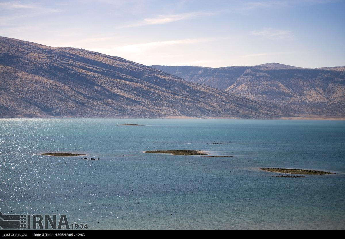 آلبوم عکس؛ آثار خشکسالی در سد «درودزن» فارس
