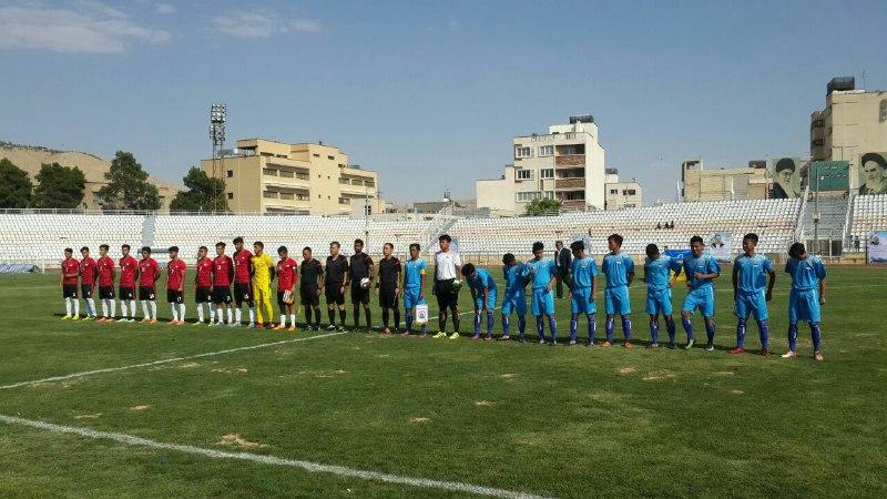 فوتبال دانش آموزان آسیا؛ تیم منتخب فارس برابر اندونزی شکست خورد