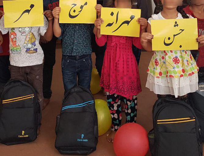 157 کودک بازمانده از تحصیل در شیراز به مدرسه رفتند