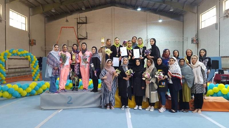 تیم ژیمناستیک دختران فارس، نایب قهرمان کشور شد