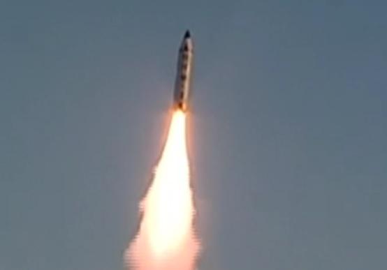 موشکهای بالستیک کرۀ شمالی پس از پرتاب آزمایشی در دریای ژاپن فرود آمدند