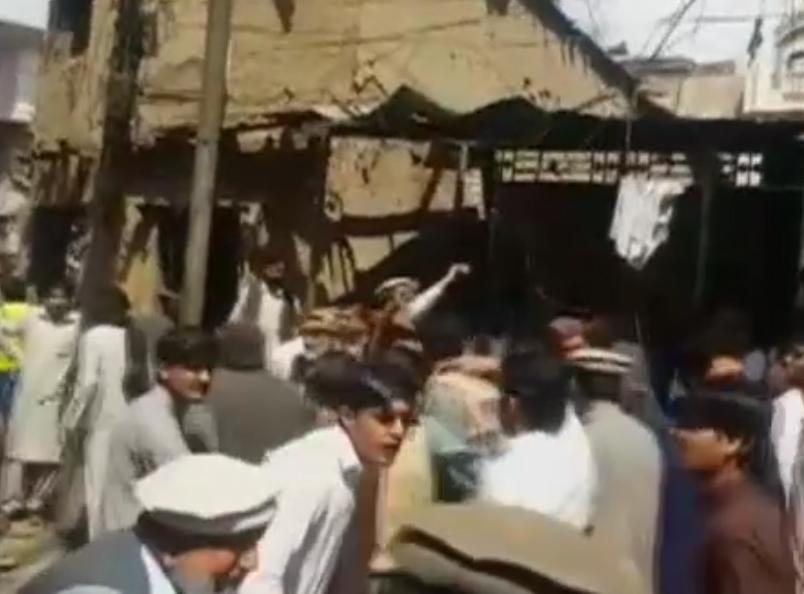 انفجار در شهر پاراچنار پاکستان ۲۲ کشته و دهها مجروح بر جا گذاشت