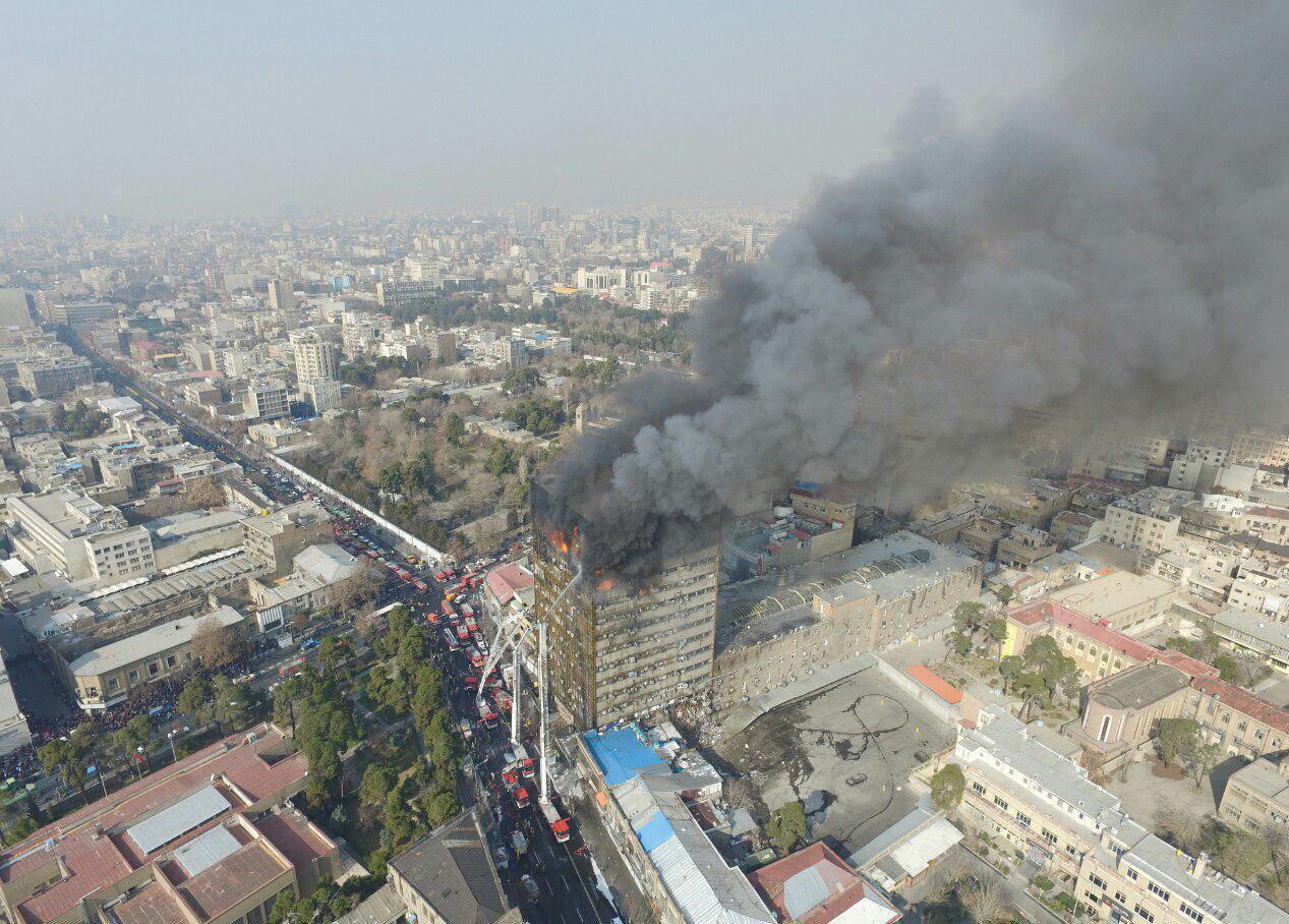 نیروی انتظامی بازداشت یک مامور دژبانی را به دلیل افشای جزییات حادثه پلاسکو تکذیب کرد