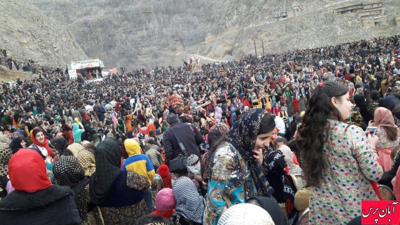 ویدئو و عکسهایی از جشن نوروزی در «تنگیسر» کردستان