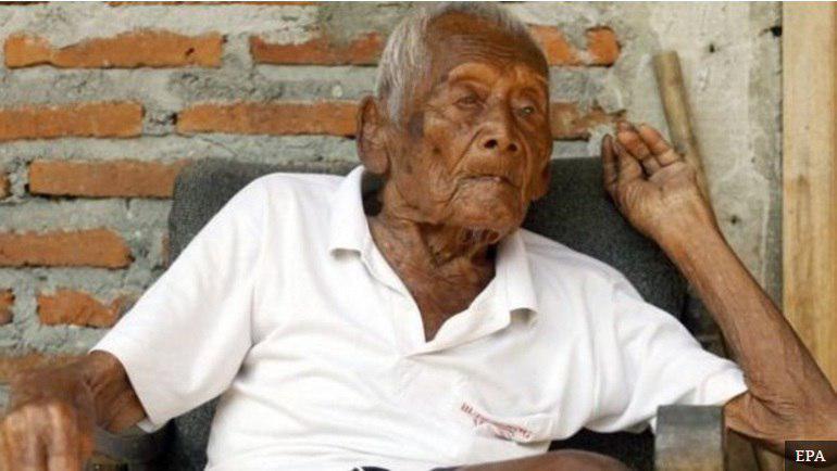 «مسنترین مرد دنیا در ۱۴۶ سالگی درگذشت»