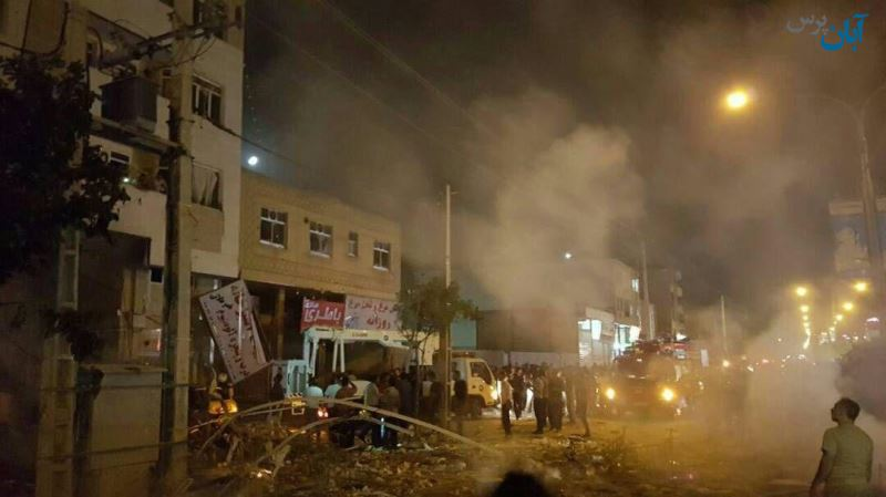 انفجار در یک مرکز خرید در شیراز