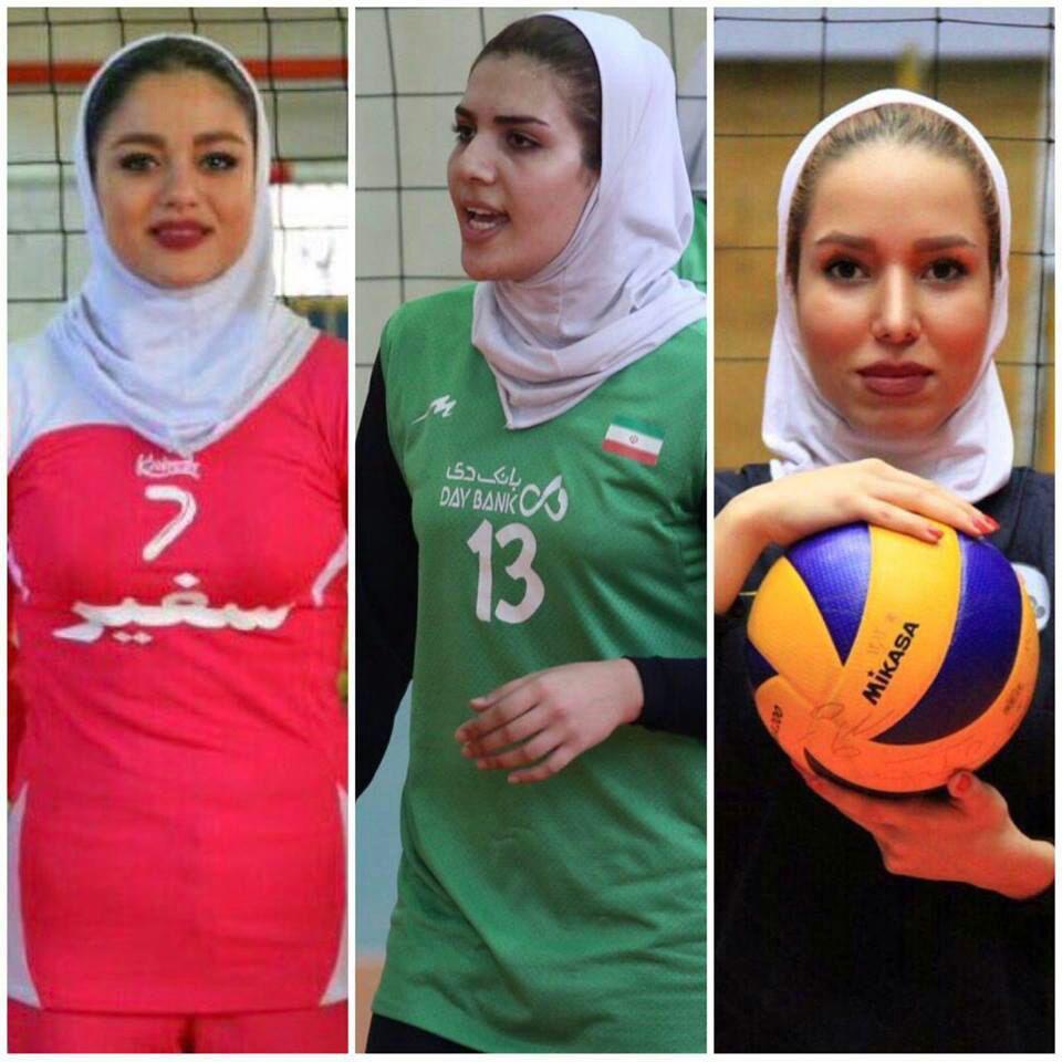 محرومیت بازیکنان تیم ملی والیبال امید دختران ایران