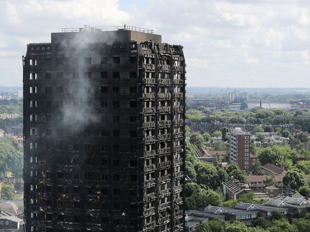 شمار قربانیان آتش سوزی برج مسکونی لندن به ۷۹ نفر رسید
