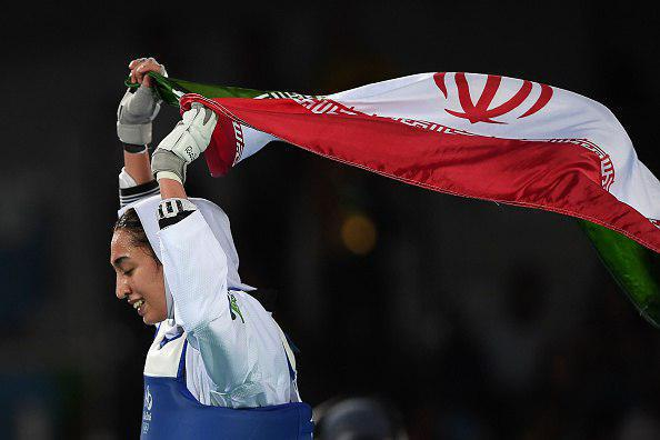 کیمیا علیزاده پرچمدارمسابقات قهرمانی تکواندو جهان ۲۰۱۷