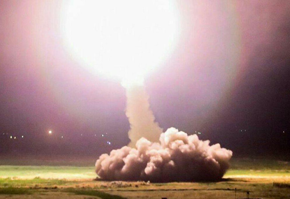 حمله موشکی ایران به تروریستها در شرق سوریه