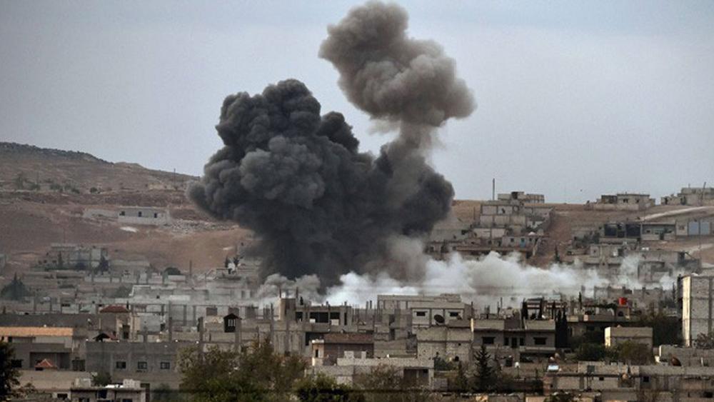 حمله هوایی ائتلاف نظامی آمریکا به زندان داعش ۵۷ کشته بر جا گذاشت