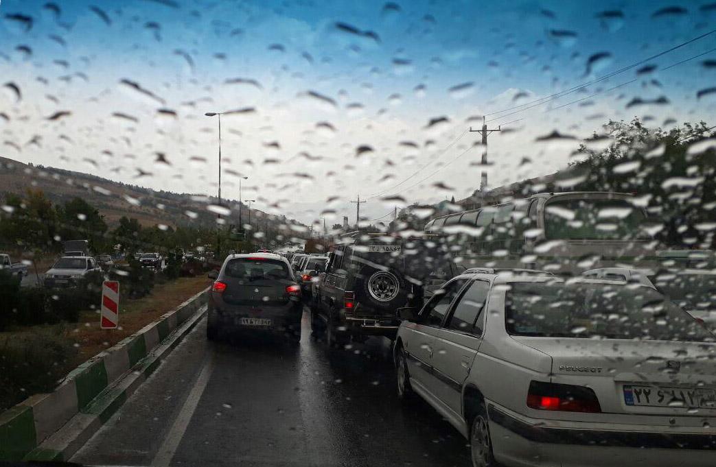 باران بخشهایی از فارس را فرا گرفت