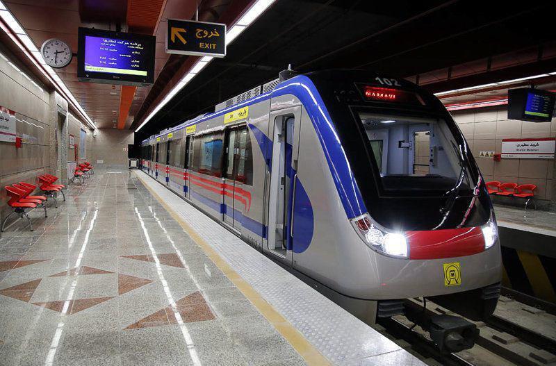 افتتاح «دیر هنگام» خط یک مترو در جنوب شرق شیراز