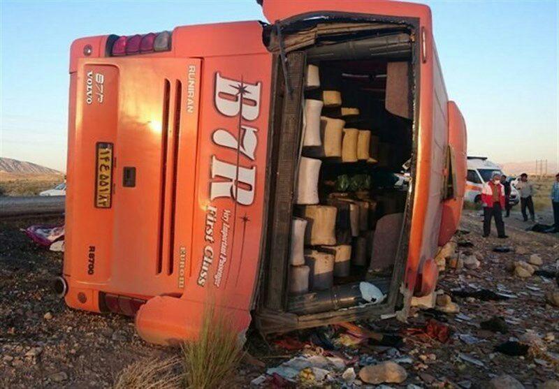 مرگ 77 تن در فارس بر اثر حوادث رانندگی اتوبوسهای مسافربری در سالهای اخیر