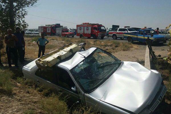 فارس همچنان رتبه اول مرگهای ناشی از تصادفات