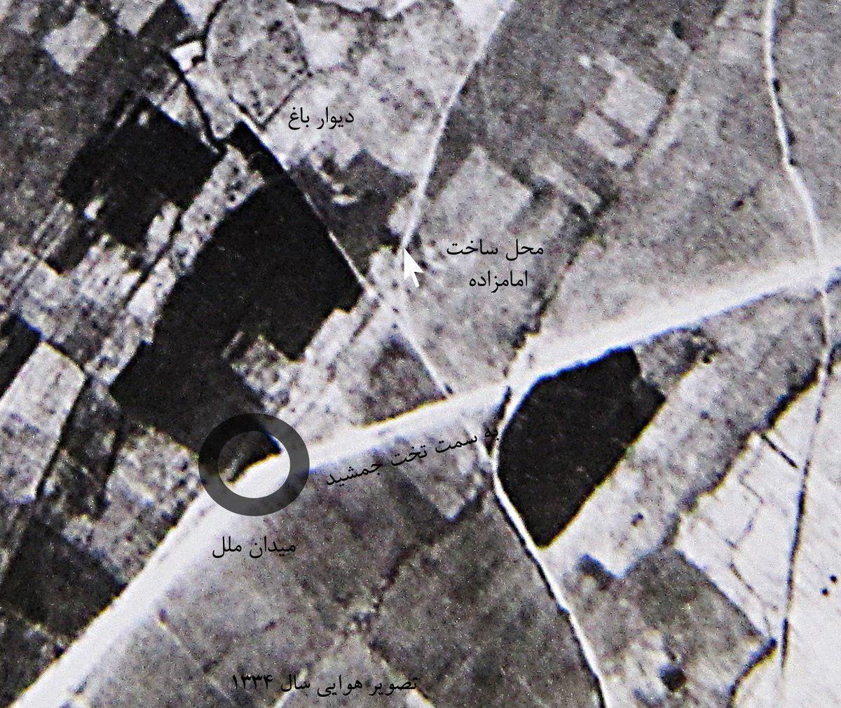 تلاش برای ساخت امامزادهای در حریم تخت جمشید که ۶۰ سال قبل اثری از آن نبوده