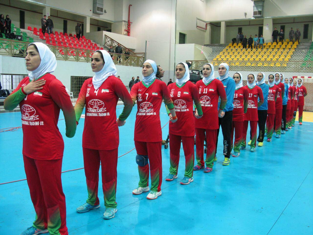 تیم لارستان فارس در آستانه قهرمانی هندبال غرب آسیا