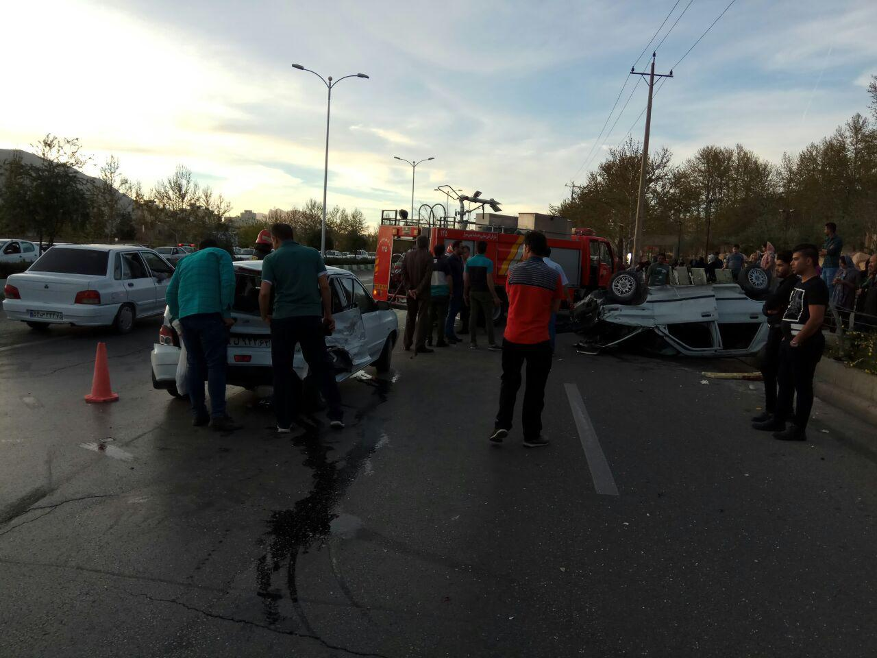 فارس در رتبه اول حوادث رانندگی نوروزی