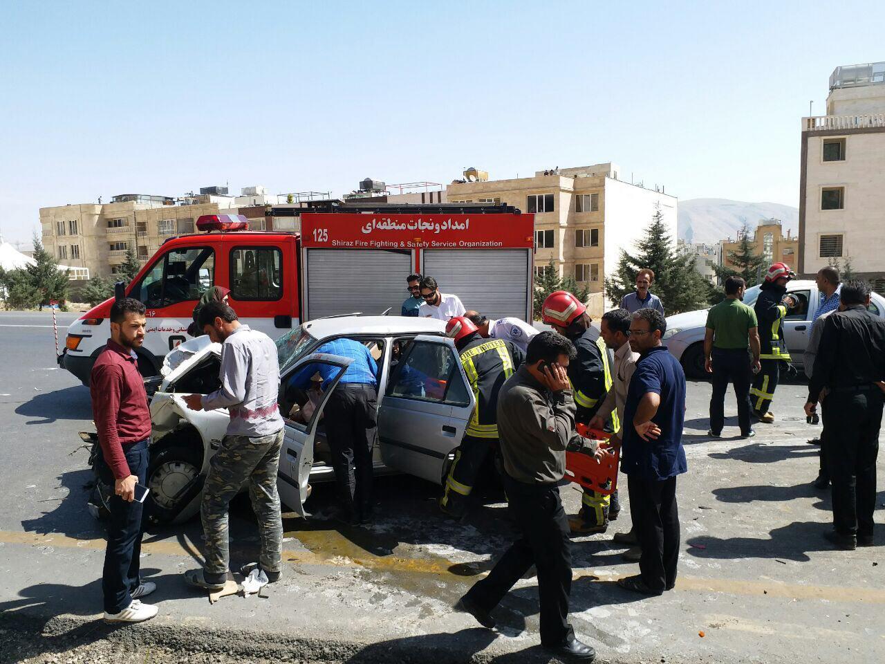 امدادرسانی به حدود ۹۰۰ حادثه دیده در فارس طی ۱۱ روز نخست تعطیلات نوروزی