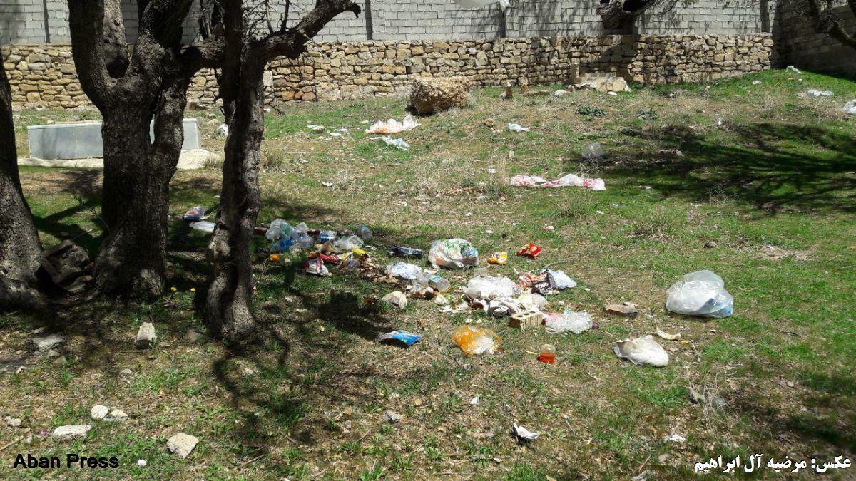 آلبوم عکس؛ رفتارهای تخریبگرانه در طبیعت دشت ارژن فارس