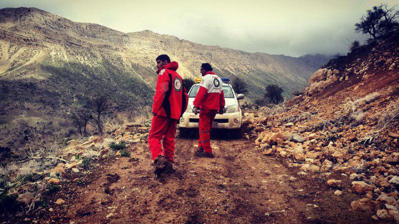 نجات ۱۴ نفر در کوهستان رُنج سپیدان