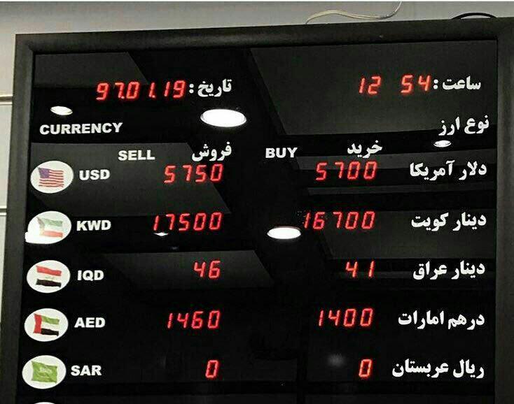 جهش دوباره قیمت دلار در ایران