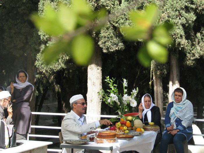 جشن فروردینگان از سوی زرتشتیان شیراز برگزار شد