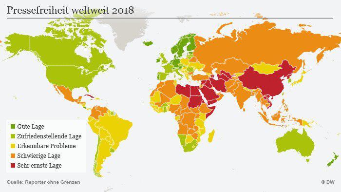 یک نهاد ناظر بین المللی: ایران در زمینه آزادی رسانهها «در جا میزند»