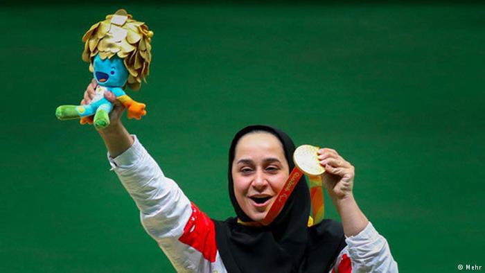 ساره جوانمردی، ورزشکار شیرازی نامزد بهترین ورزشکار ماه مه ۲۰۱۸ پارالمپیک