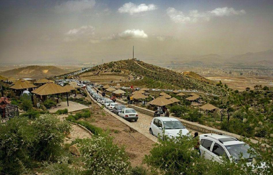 بوستان دراک شیراز بازگشایی شد