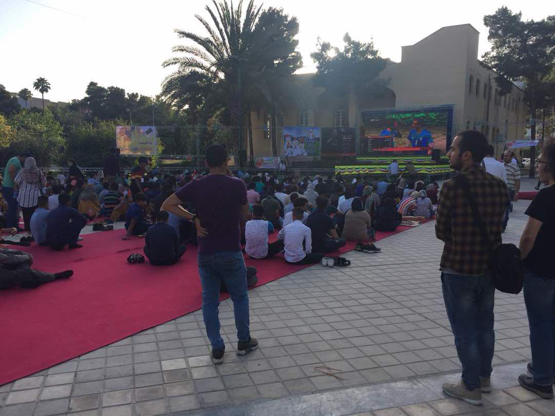 استقبال خانوادههای شیرازی از «آزادی»