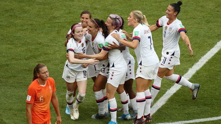 تیم ملی فوتبال زنان آمریکا برای چهارمین بار قهرمان جهان شد