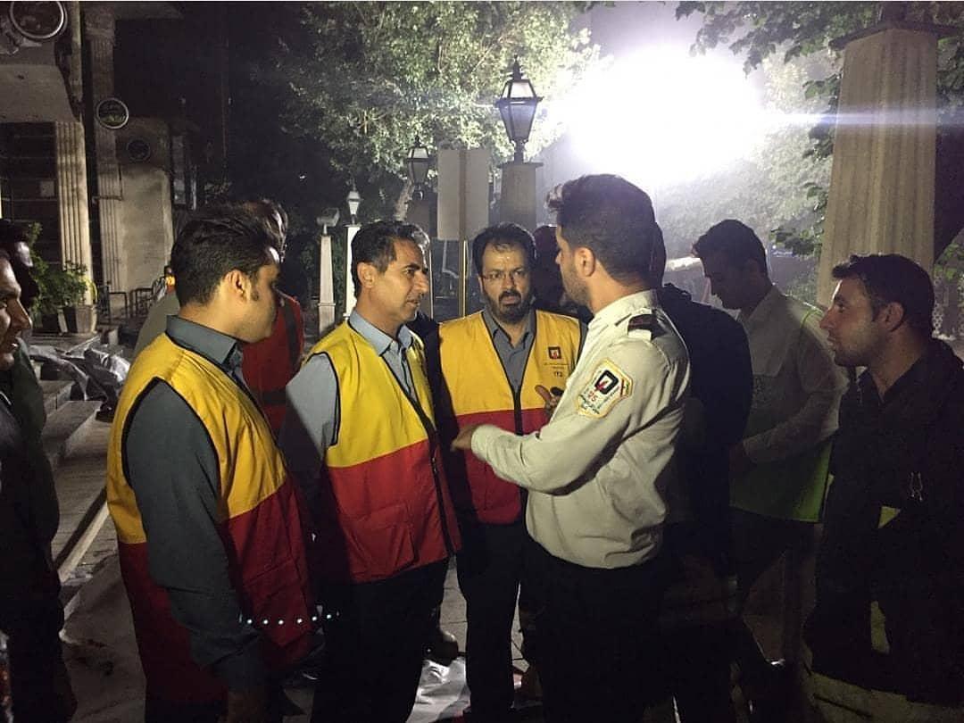 پیام تشکر شهردار شیراز خطاب به آتش نشانان