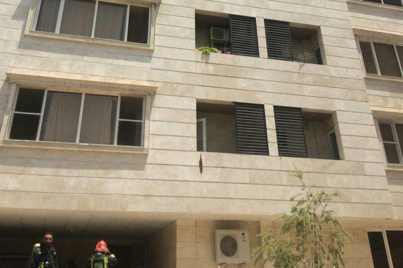 ۸ نفر بر اثر آتش سوزی در ابیوردی شیراز مصدوم شدند