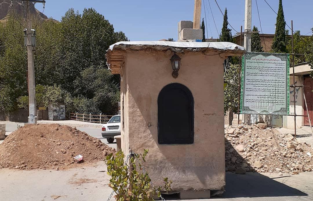 ورود به روستای توریستی قلات شیراز ممنوع شد