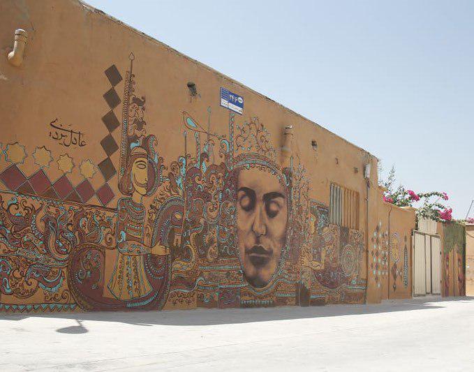 نخستین کوچه گالری ایران در شیراز