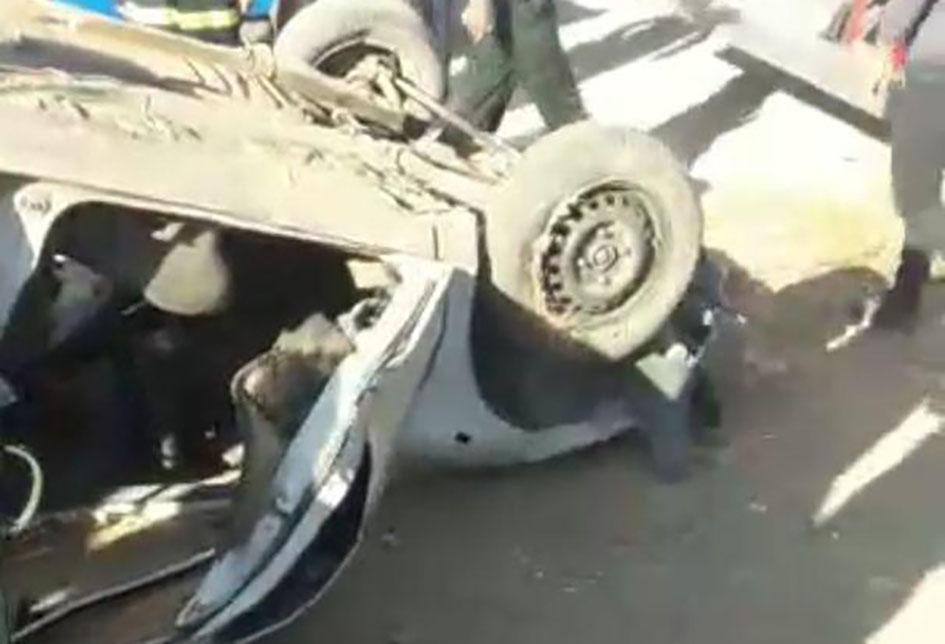 مرگ راننده بر اثر تعقیب و گریز پلیس در کوار فارس