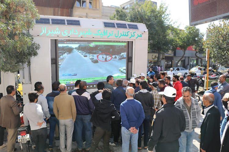 اقدام جالب شهرداری شیراز در خصوص موتورسواران